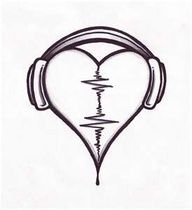 this would be a cool tattoo design if i was a dj.