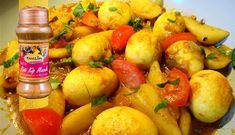 Surinaams eten – Ei en aardappel in masala (anda aloe masala)