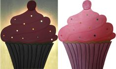 Nachtlicht / Schlummerlampe Cupcake zwergliland.ch