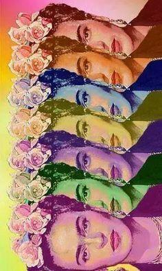 fondo frida kahlo - Buscar con Google                              …