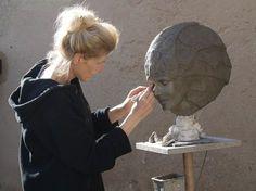 au travail - Sculpture ©2014 par Judith Franken - Sculpture, Céramique