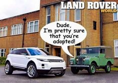 Real land rover