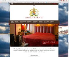 The Royal Hotel Liverpool is a privately owned, 25 bedroom, 3 star hotel, situated in Waterloo, Liverpool. Built in 1816, the hotel reflects the grandeur of the Georgian Era. Their new website has just gone live.  This site is responsive (adapts in size according to the device it is viewed on) Site design by Online Guru  http://www.liverpool-royalhotel.co.uk/
