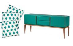 Capa para almofadas Points, na Camicado, por R$ 13 (camicado.com.br) Decor, Furniture, Cabinet, Loft, Home Decor, Storage, Ideas Para, Vintage