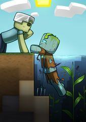 - Minecraft World Minecraft Ships, Mine Minecraft, Minecraft Funny, Minecraft Fan Art, Minecraft Projects, Minecraft Crafts, Minecraft Designs, Minecraft Posters, Minecraft Comics