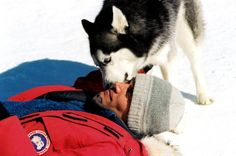 I wanna kiss him, too! Paul in 8 Below