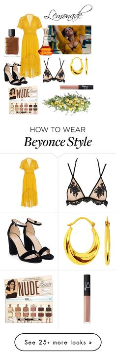 """Hold Up"" by sierra-shorty-lo-simms on Polyvore featuring Ulla Johnson, Nasty Gal, Frontgate, NARS Cosmetics and lemonade Beyonce Style, Hold Ups, Ulla Johnson, Nasty Gal, Nars Cosmetics, Lemonade, Nude, Women's Fashion, Polyvore"