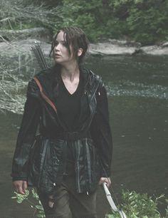 Jennifer Lawrence as Katniss Everdeen. beautiful still