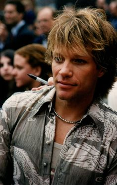 Jon Bon Jovi:::He is just so freakin awesome!! How could anyone not be a Bon Jovi fan??!!!!