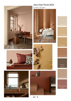 Wall Colors, House Colors, Colours, Wall Color Combination, Yoga Studio Design, Brown Walls, Brown Bedroom Walls, Living Room Trends, Decoration Inspiration