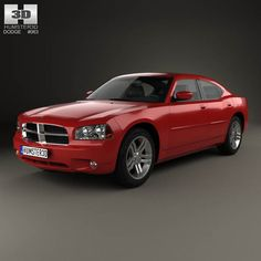 Dodge Charger (LX) 2006 3d model from humster3d.com. Price: $75