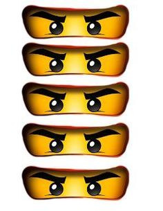 Ninjago Party Bag Eyes.pdf | Craft ~ Your ~ HomeCraft ~ Your ~ Home