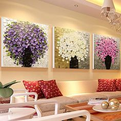 Royal Wall Decoration – Hand Painted Paintings | Home Designing