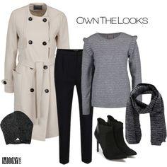 krémový kabát – MODNYSVET