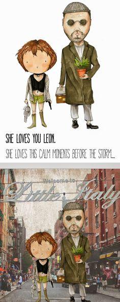 Leon and Mathilda made by Stfu!rczość