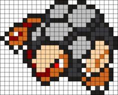 Golem Pokemon Bead Pattern