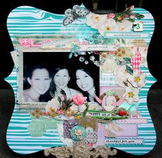 Introducing New Girl Land from Webster's Pages - Scrapbook.com