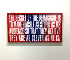 Barbara Kruger   RePinned by : www.powercouplelife.com