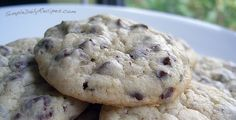 Sour Cream Chocolate Chip Cookies..making these now...the dough tastes yummy...can't wait for a warm cookie!!! ;)