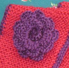 boomie blogt...: Een sjaal met een bloem en een handleiding (scroll down for English version)