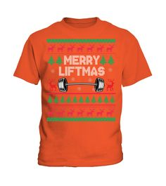 Merry Liftmas Ugly Christmas Gift For Weightlifting Lovers Sweatshirt (Kid T-Shirt - Orange), kids xmas parties, xmas ornaments homemade, xmas wreath #xmascountdown #christmaslights #christmasshopping, christmas decorations, thanksgiving games for family fun, diy christmas decorations Christmas Gifts For Her, Christmas Shopping, Diy Christmas, Christmas Decorations, Xmas Countdown, Xmas Wreaths, Thanksgiving Games, Christmas Costumes, Xmas Party