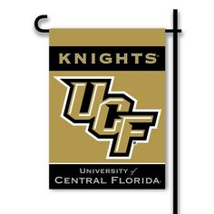 ucf golden knights 2 sided garden flag
