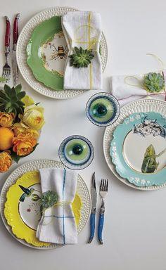 Nature Table Dessert Plate