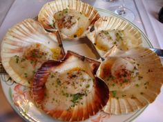 Coquille St Jacques at Chez Michel restaurant. Yummy!