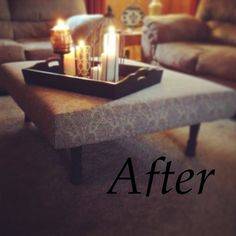 -DIY pallet coffee table