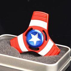 American Captain Fidget Spinner - Super Heroes