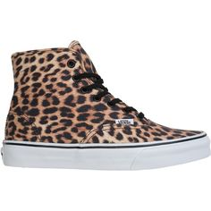 VANS Authentic hi shoe ($65) ❤ liked on Polyvore
