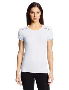 Tasc Performance Womens Petal Crew Neck Running Fitness Short Sleeve Tee Shirt White Small ** Check out the image by visiting the affiliate link Amazon.com on image.