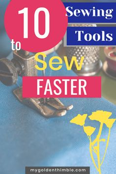 The Best Sewing Tools If you Want to sew faster? Use the right sewing tools. These tools will make your life so easier that you wish you knew them earlier. #sewinghacks #sewingtipsandtricks #sewingtools #sewingtutorials