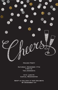 New Years Eve Party Invitation | Vistaprint