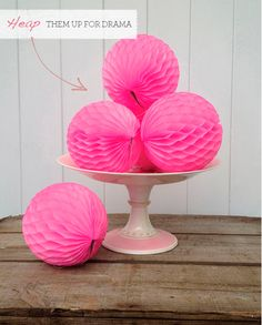 Paper Ball Decorations Paper Balls Large Party Decorations  Paper Balls Buntings And