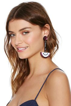Jennifer Loiselle Watermelon Earrings | Shop Accessories at Nasty Gal