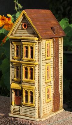 Clay model houses