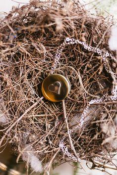 Simple gold locket | Al Gawlik Photography/Pink Parasol Designs and Coordinating