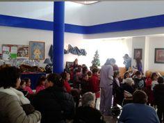 Grupo Reifs Alcalá Visita cartero real 2013