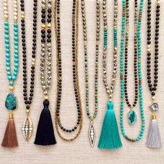 The Elle Tassel Necklace