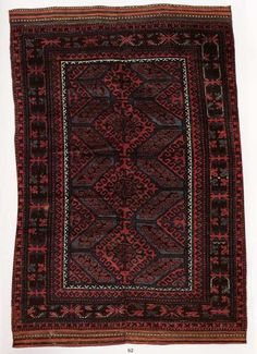 Aimaq. Afghanistan. 2,13x1,32m 19th Century $2,000-2500 Sotheby's Thompson auction of 12/16/93