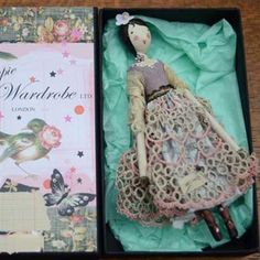 Doll: Evie - The Magpie and the Wardrobe.  Love the way this is packaged.