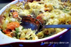 chicken and broccoli casserole - without cream soups - and yummy!