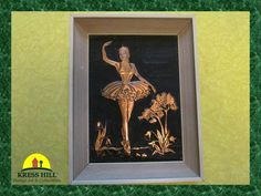 Pair  Ballerina Tooled Copper Relief Pictures  by KressHillVintage, $88.00