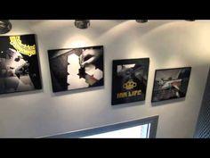 Exposición Garabatos. Intervención Fotográfica. Croak Santana & Daniel Reone. 1-19.06.2011