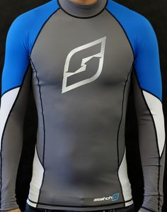 Lycra Rash Guard - Apparel - Accessories - Spare Parts Kitesurfing, Rash Guard, Spare Parts, Wetsuit, Awesome, Long Sleeve, Swimwear, Fun, T Shirt