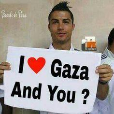 I love Gaza too❤