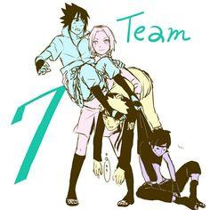 """Who runs the whole team 7?"" - ""Sakura!!"" xD"