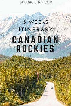 Canadian Rockies: The Best 3 Weeks Itinerary This three weeks Canadian Rockies road trip itinerary will give you an idea how to plan your Canada travels to get the most of your time and to see all highlights along the way. Backpacking Canada, Canada Travel, Travel Usa, Travel Tips, Road Trip Canada, Backpacking Trips, Travel Hacks, Hawaii Travel, Road Trips