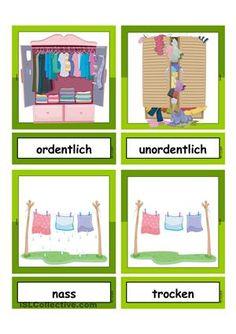 German Language Learning, Learn German, Montessori Materials, School Life, Kids Learning, Worksheets, Activities For Kids, Kindergarten, Homeschool